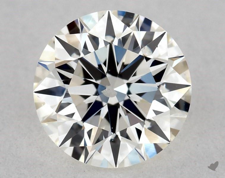 0.51 ct Round Diamond : H / SI2