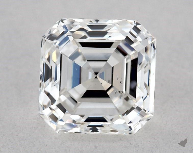 0.90 ct Asscher Cut Diamond : E / SI1