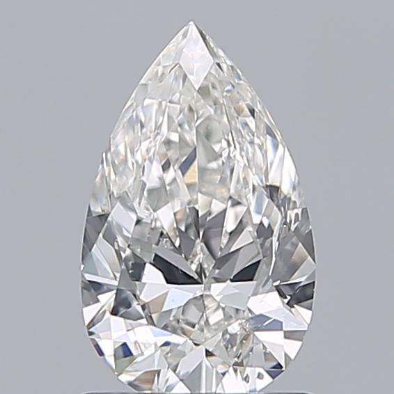 1.00 ct Pear Shape Diamond : G / SI1