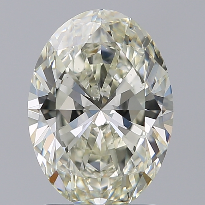 2.01 ct Oval Diamond : K / VS2