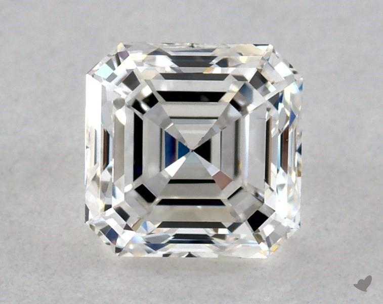 0.71 ct Asscher Cut Diamond : F / VVS2