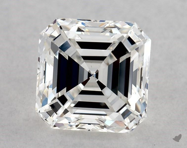 0.80 ct Asscher Cut Diamond : F / VVS2