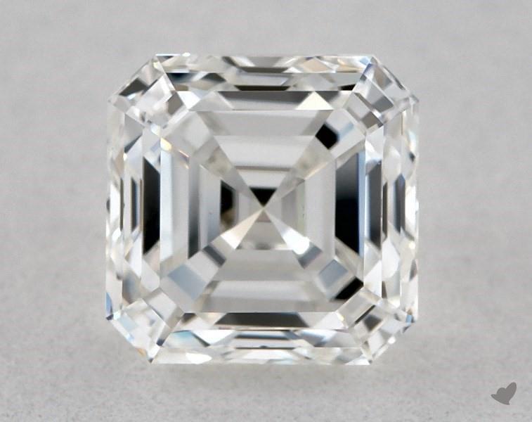 0.80 ct Asscher Cut Diamond : F / VVS2