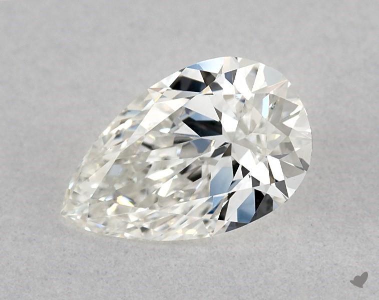 0.40 ct Pear Shape Diamond : G / VVS1