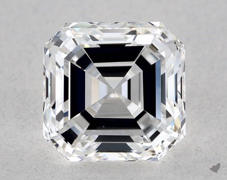 0.70 ct Asscher Cut Diamond : D / VS1