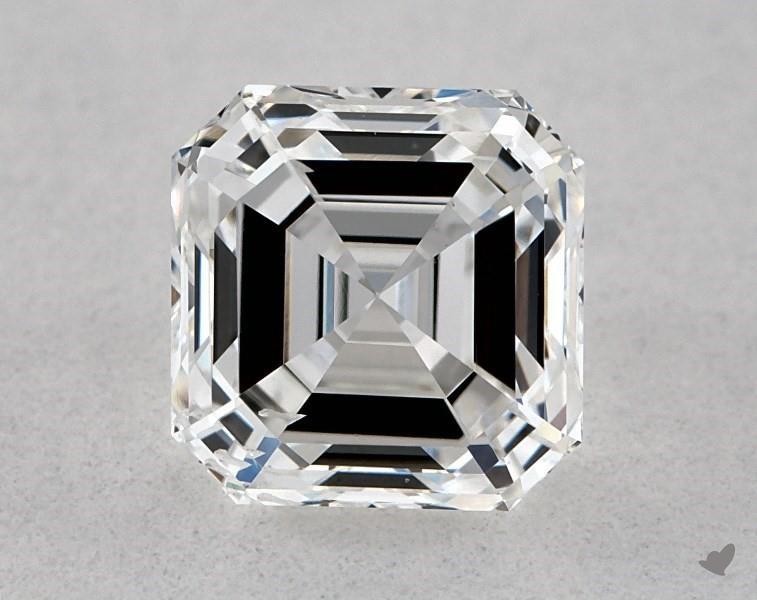 0.80 ct Asscher Cut Diamond : E / SI1