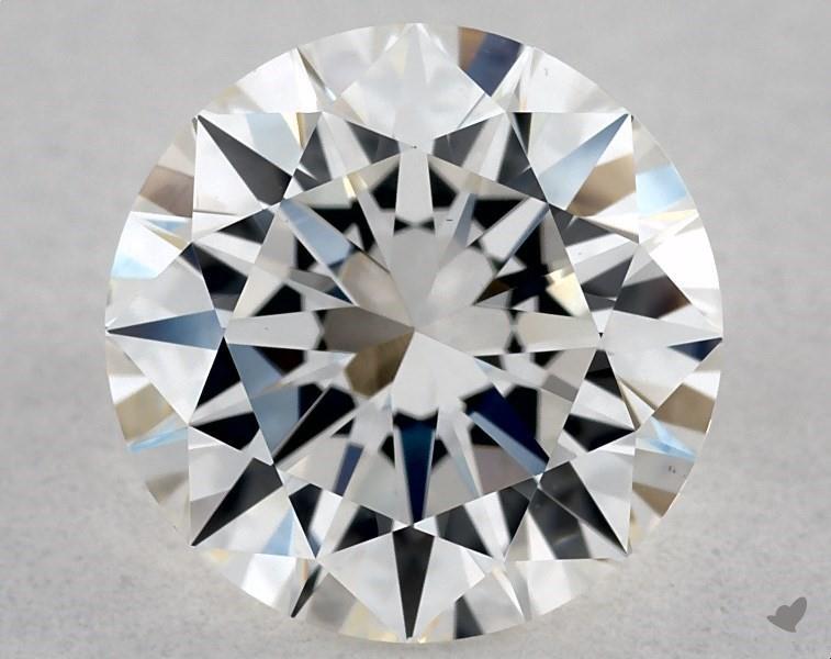 1.01 ct Round Diamond : H / VS1