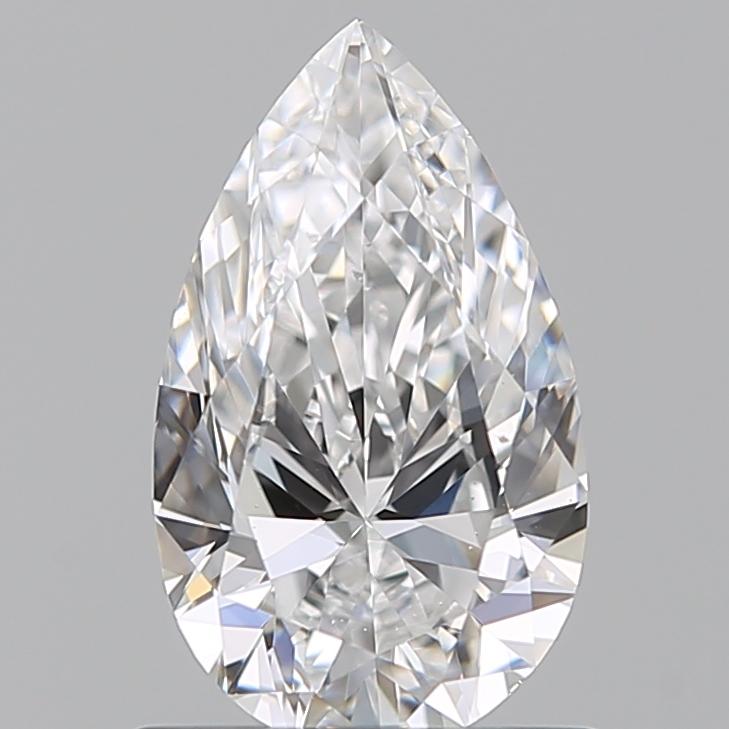 0.75 ct Pear Shape Diamond : D / VS2