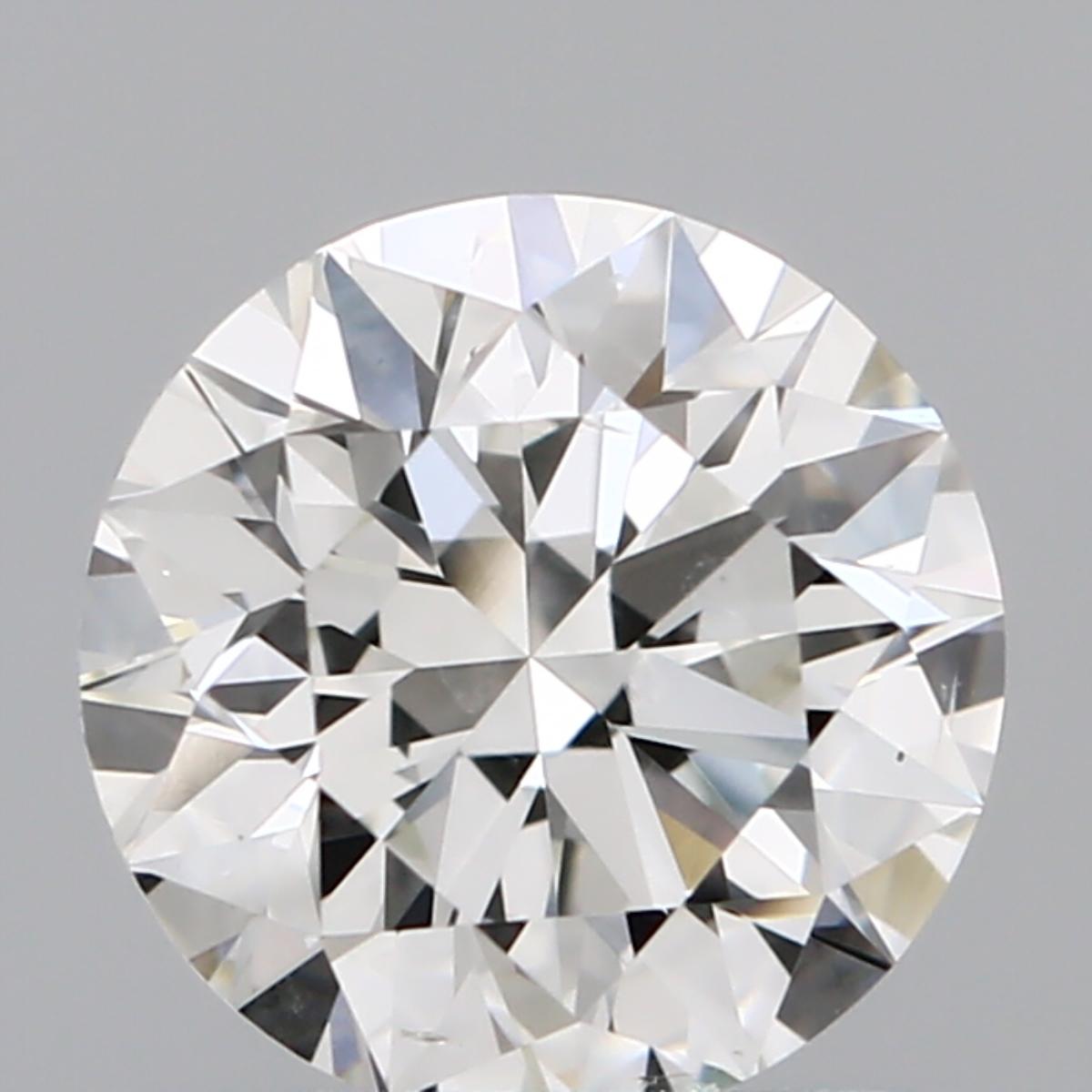 1.07 ct Round Diamond : I / SI1
