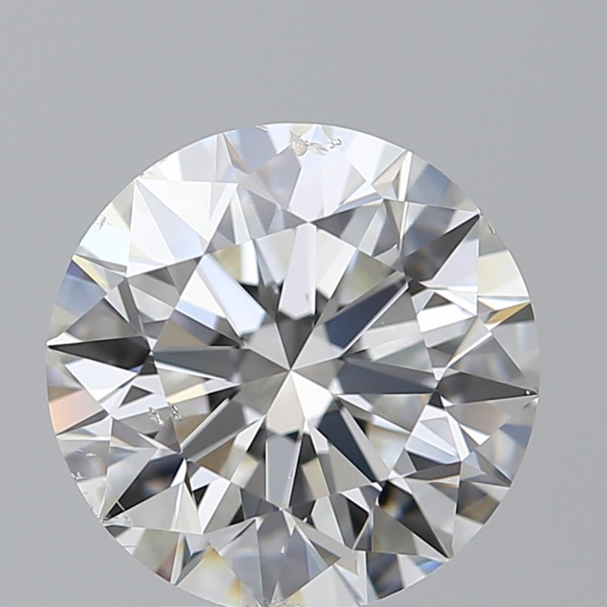 3.01 ct Round Diamond : H / SI1