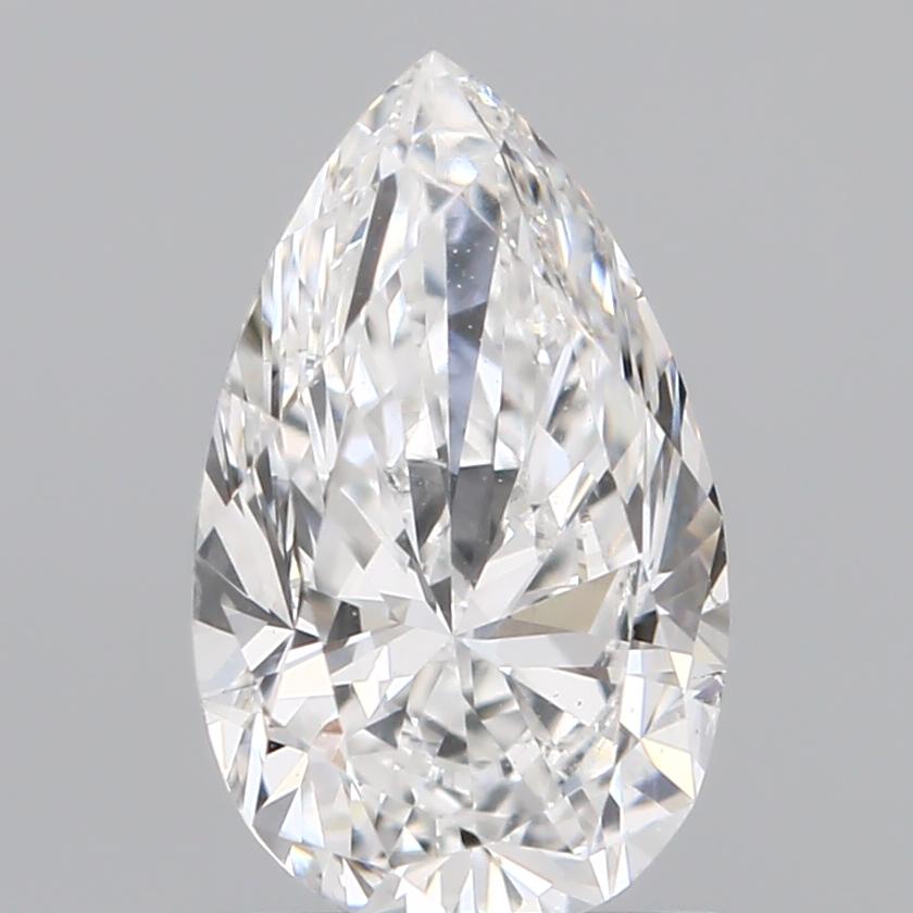 1.02 ct Pear Shape Diamond : F / SI1