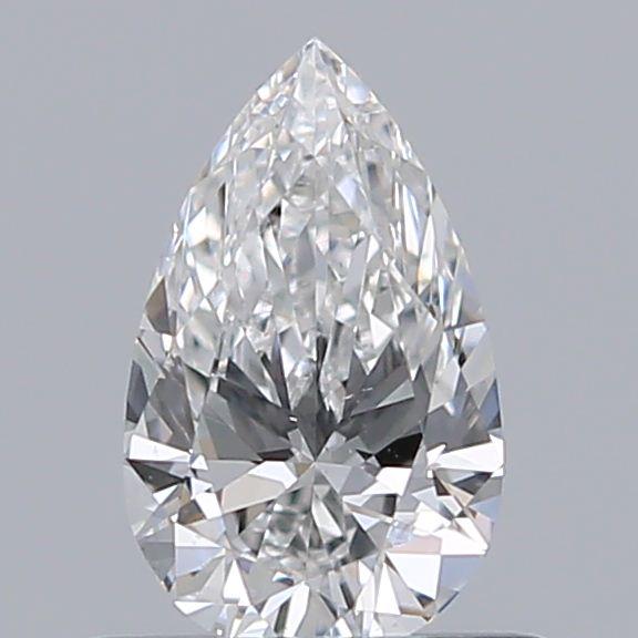 0.50 ct Pear Shape Diamond : F / SI1
