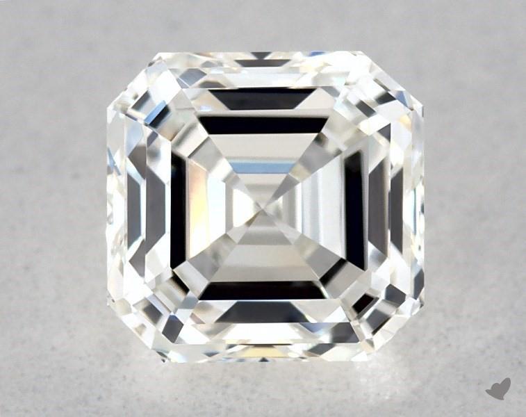 0.51 ct Asscher Cut Diamond : H / VVS1