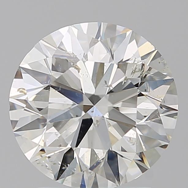 1.90 ct Round Diamond : J / SI2