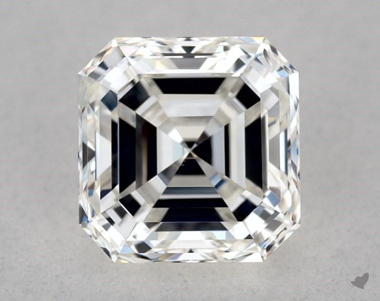 1.01 ct Asscher Cut Diamond : G / VVS2
