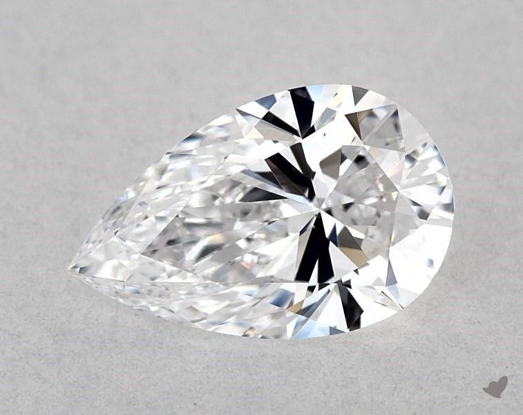 0.72 ct Pear Shape Diamond : D / VVS2