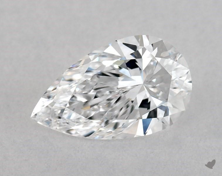 0.56 ct Pear Shape Diamond : D / VVS1