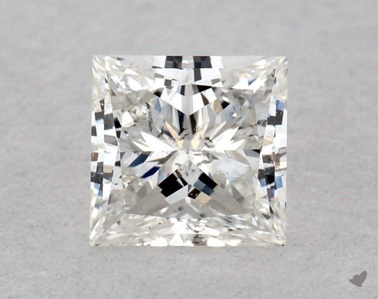 0.32 ct Princess Cut Diamond : F / SI2