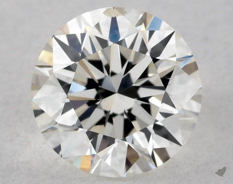 0.40 ct Round Diamond : J / SI2