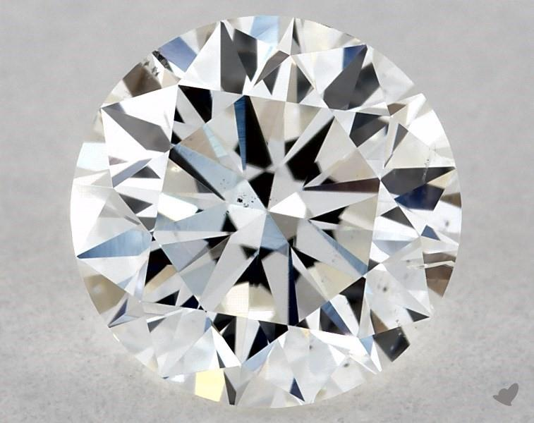 0.70 ct Round Diamond : G / SI1