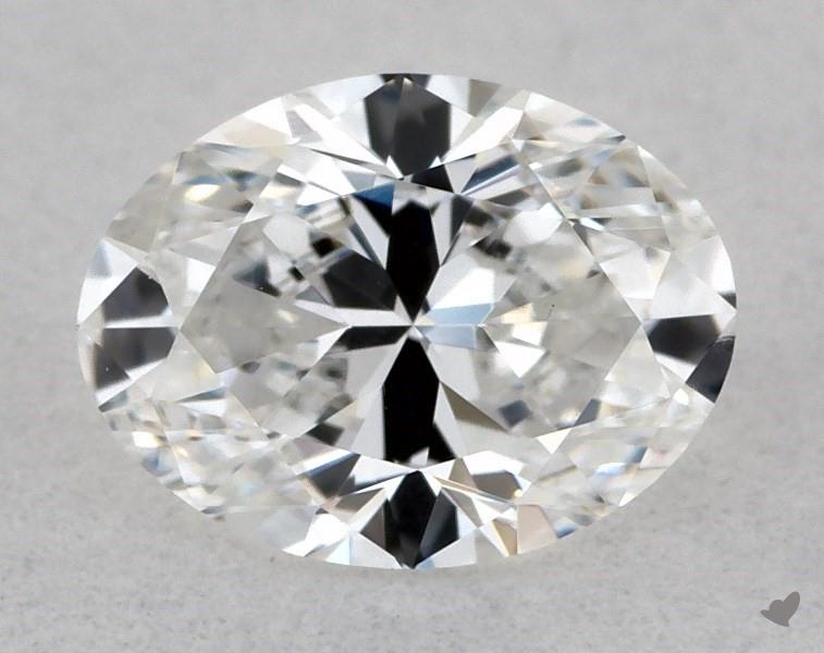 0.43 ct Oval Diamond : E / VS2