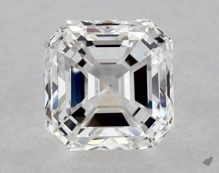 0.70 ct Asscher Cut Diamond : F / VVS1