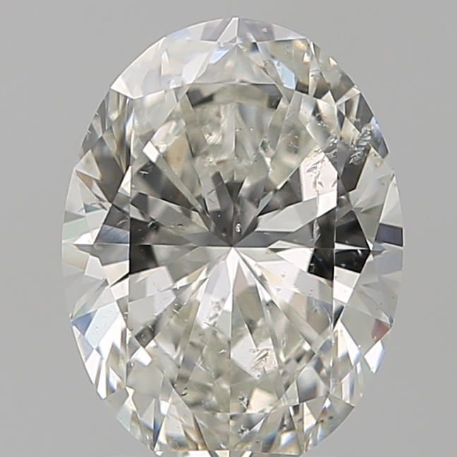 1.70 ct Oval Diamond : H / SI2
