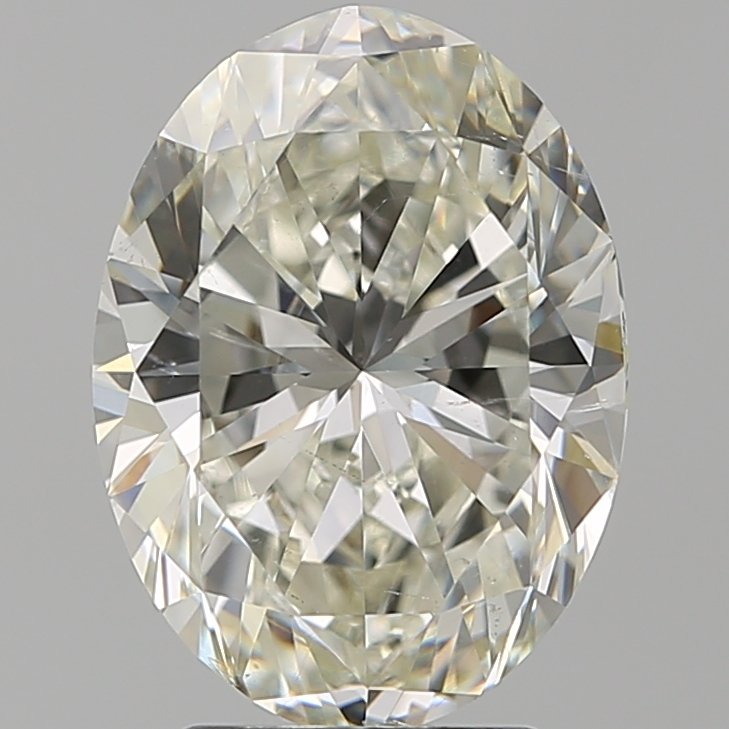 3.20 ct Oval Diamond : J / SI1