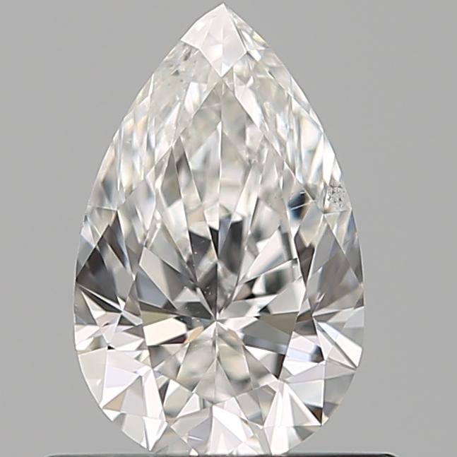 0.51 ct Pear Shape Diamond : F / SI1