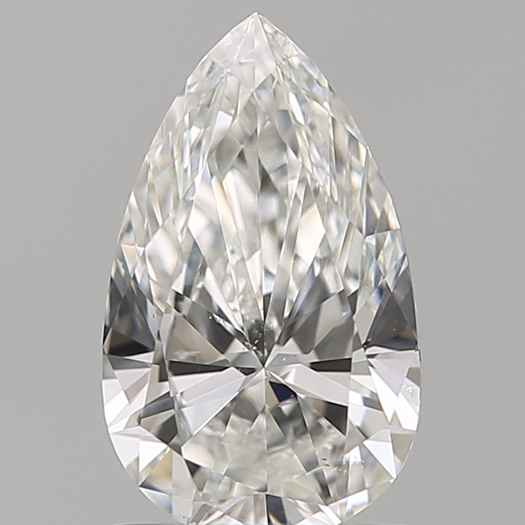 0.90 ct Pear Shape Diamond : F / SI1