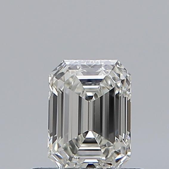0.51 ct Emerald Cut Diamond : I / VVS1