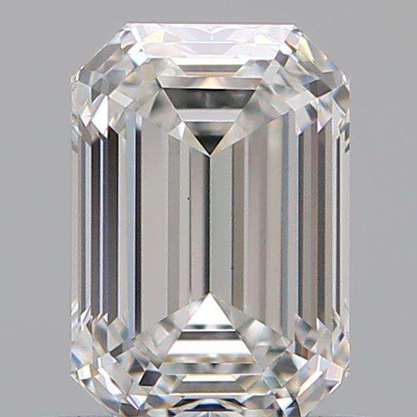 0.73 ct Emerald Cut Diamond : G / VVS2
