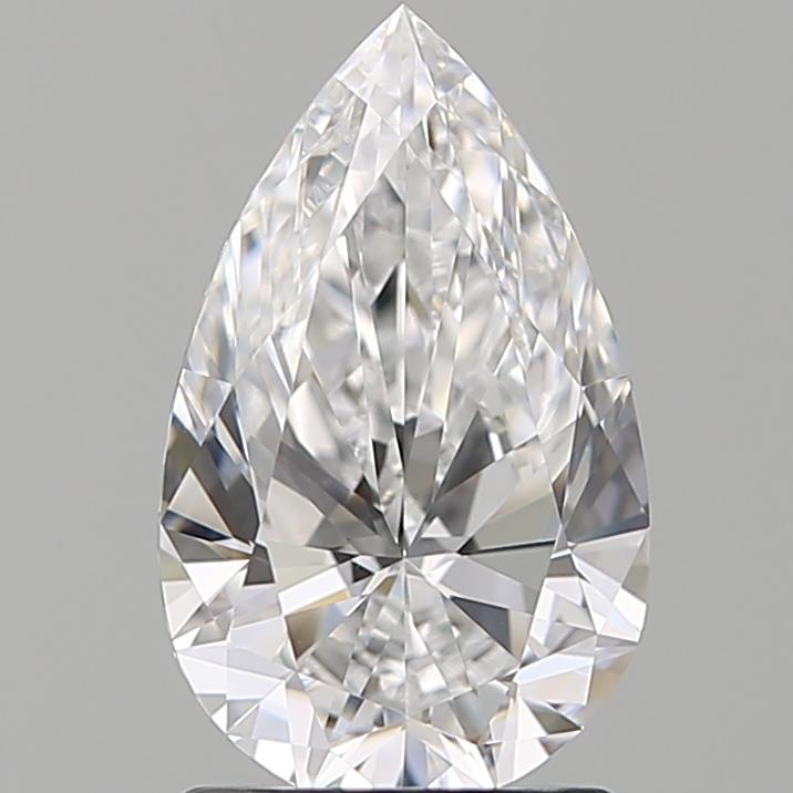 1.50 ct Pear Shape Diamond : D / VVS2