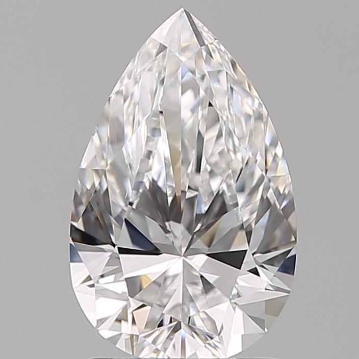 1.50 ct Pear Shape Diamond : D / VS1