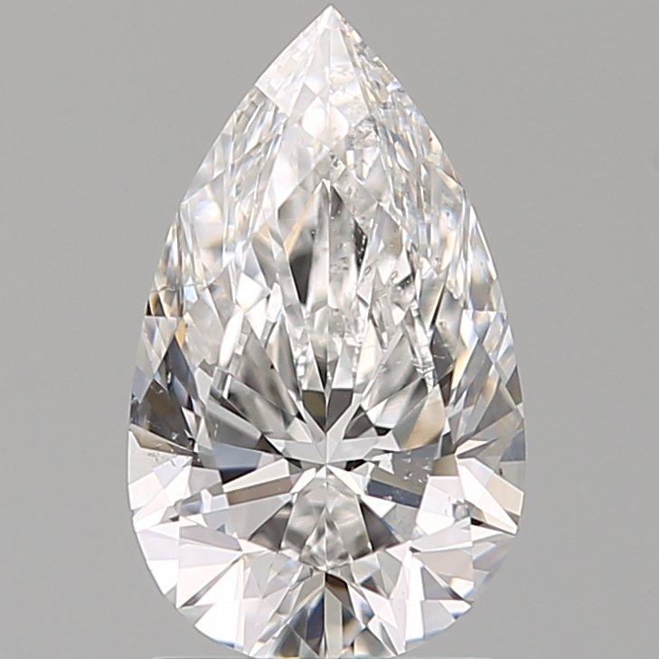 1.51 ct Pear Shape Diamond : E / SI1