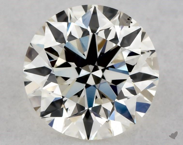 0.38 ct Round Diamond : J / SI1