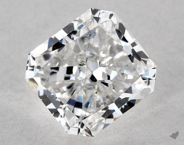 1.02 ct Radiant Diamond : F / SI1