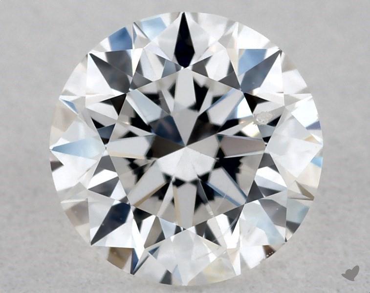 0.40 ct Round Diamond : E / SI1
