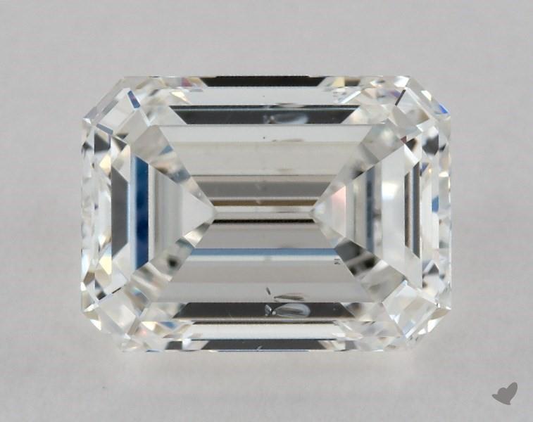 0.92 ct Emerald Cut Diamond : F / SI2