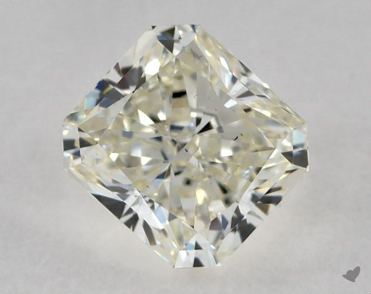 1.02 ct Radiant Diamond : K / VS2