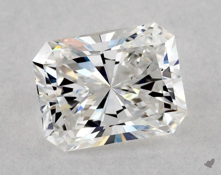 0.70 ct Radiant Diamond : E / SI1