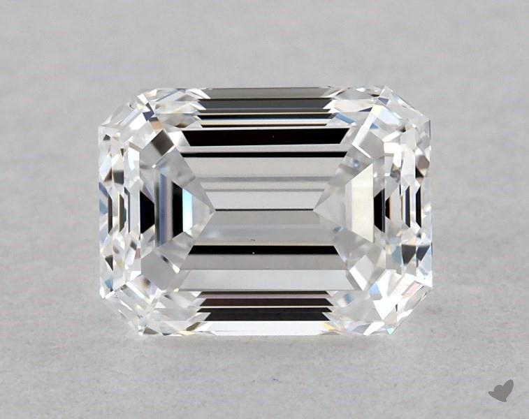 0.60 ct Emerald Cut Diamond : D / VS1