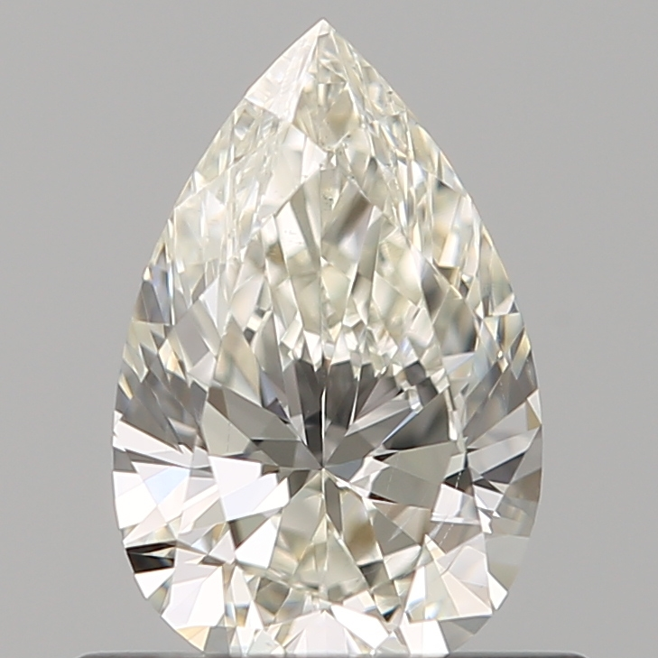 0.51 ct Pear Shape Diamond : J / SI1