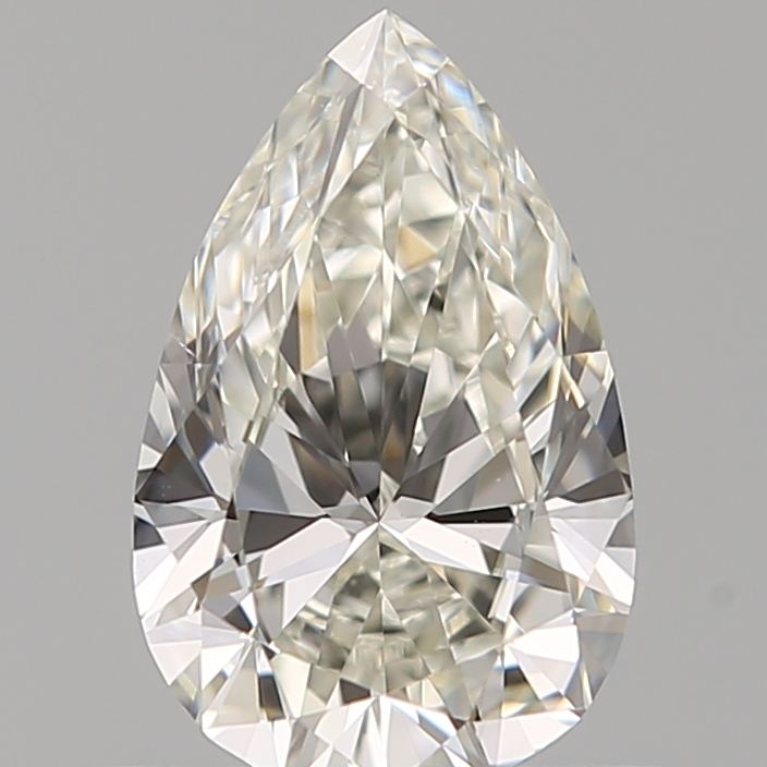0.50 ct Pear Shape Diamond : J / SI1