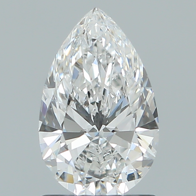 1.01 ct Pear Shape Diamond : F / SI2
