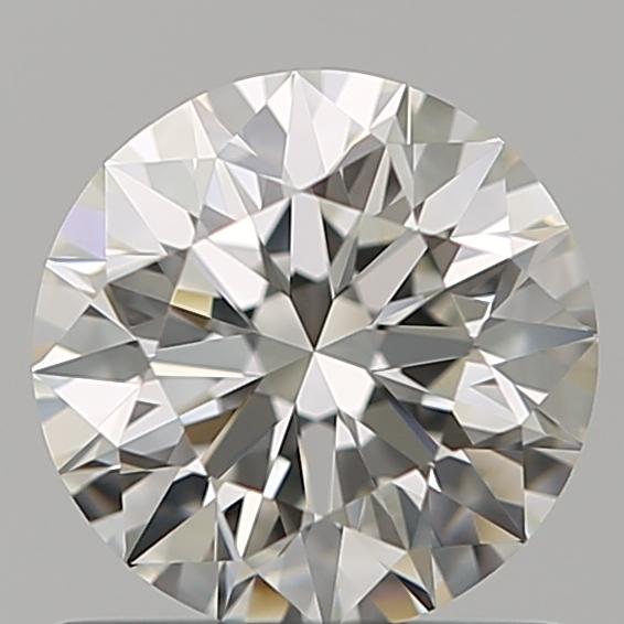 0.81 ct Round Diamond : H / IF