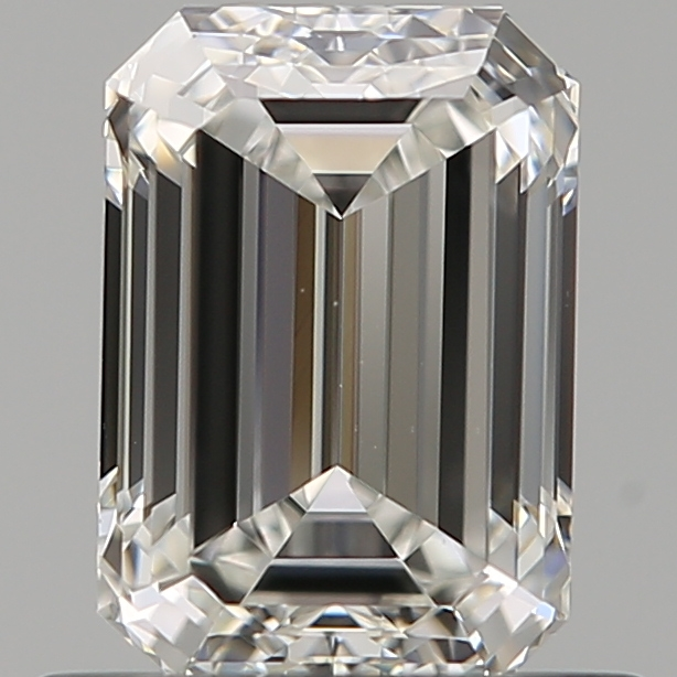 0.70 ct Emerald Cut Diamond : G / VVS1