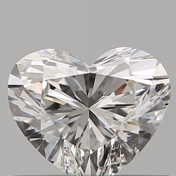 0.40 ct Heart Shape Diamond : F / VS2