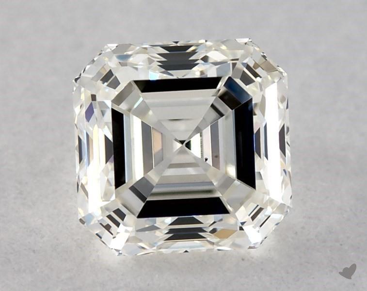 0.42 ct Asscher Cut Diamond : J / VS1