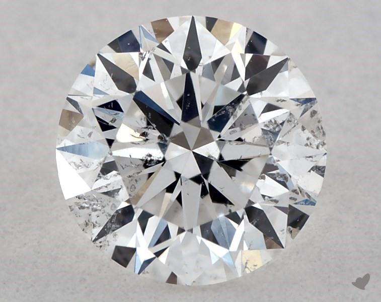 0.52 ct Round Diamond : D / I1